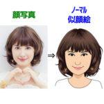 ハッピーメールの似顔絵サービス「ハッピーフェイス」