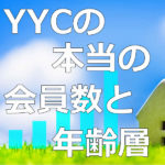 YYCの会員数と年齢層