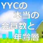 YYC(ワイワイシー)の本当の会員数と年齢層を調査した